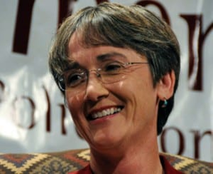 Heather Wilson (Photo by Heath Haussamen)
