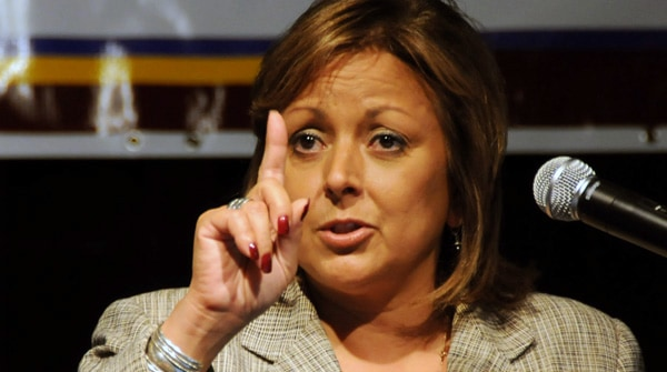 Gov. Susana Martinez (Photo by Heath Haussamen)