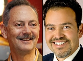 David Coss, left, and Carl Trujillo (Courtesy photos)