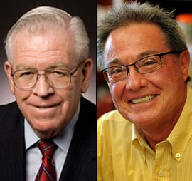 John Arthur Smith, left, and Larry P. Martinez (Courtesy photos)