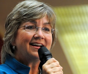 Former Lt. Gov. Diane Denish (Photo by Heath Haussamen)